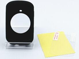 COLLINS PLUS ガーミン エッジ 830 530 用 シリコンケース 保護フィルムセット GARMIN Edge830 Edge530