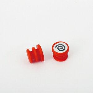 BIKERIBBON(バイクリボン) BR-EJP003 エンドキャップ ジェリー EJP003 レッド [BR-EJP003]