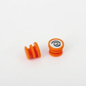 BIKERIBBON(バイクリボン) BR-EJP006 エンドキャップ ジェリー EJP006 オレンジ [BR-EJP006]