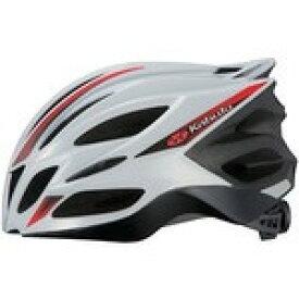 【代引無料】OGK 『TRANFI_L_wr』トランフィー(TRANFI) ヘルメット ホワイトレッド L/XL [0327410002]