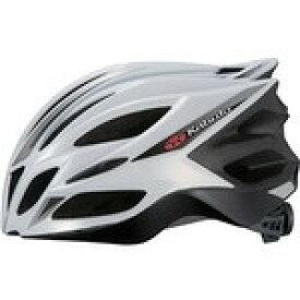 【代引無料】OGK 『TRANFI_L_ws』トランフィー(TRANFI) ヘルメット ホワイトシルバー L/XL [0327410004]