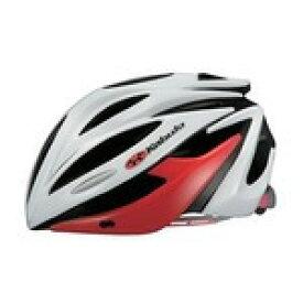 【代引無料】OGK 『ALFE_ML_wr』アルフェ (ALFE) ヘルメット ホワイトレッド M/L [0330410006]