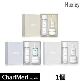 【5%OFFクーポン配布中】ハクスリー 3点セット 3種から選べる Huxley Trio Set / 抗酸化、水分、ブライトニング / しっかり保湿 うるおい サボテンシード自然由来成分 / トナー 化粧水 エッセンス クリーム / ギフト 韓国コスメ