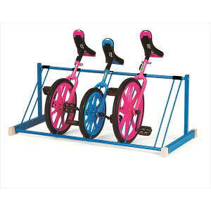 EKD124 一輪車ラック置き式 4934048891787 エバニュー EVERNEW 学校体育器具