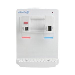 コンパクトウォーターサーバー AQUACUBE アクアキューブ KI-90509 メーカー保証1年付 冷水温水機能付(冷水:約12〜15℃、温水:約85〜95℃) 卓上ウォーターサーバー ペットボトル式(市販のペット