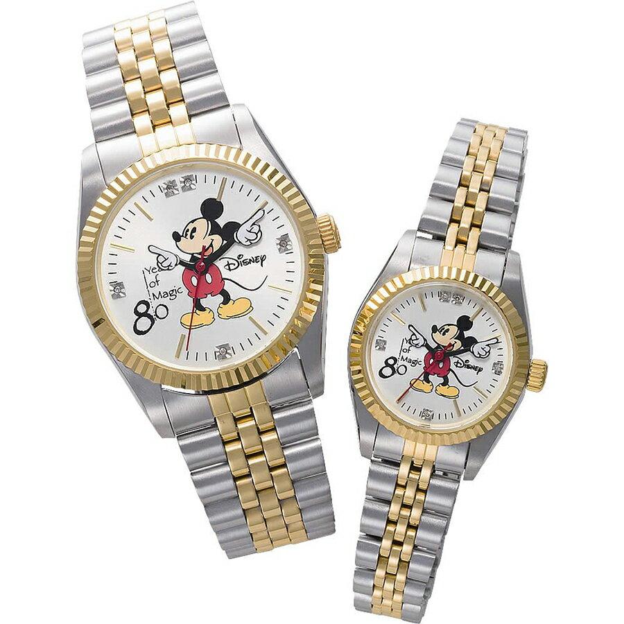 ミッキー 80周年天然ダイヤモンド時計ミッキー生誕80周年記念 ダイヤモンドウォッチ DISNEY-3 DISNEY-4