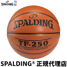 バスケットボール SPALDING スポルディング TF-250 JBA公認 5号球 小学生用 屋内外兼用