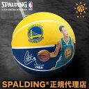 バスケットボールSPALDING スポルディングステファン・カリー プレイヤーボールSTEPHEN CURRY PLAYER BALL7号球 屋外用