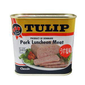 【保存期間5年】チューリップTULIP ポークランチョンミート 24缶 非常食・保存食お勧め 【送料無料】
