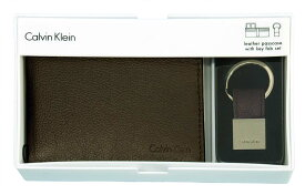 Calvin Kleinカルバンクライン ギフトセットA、財布、キーホルダー、2点セット【ギフトボックス入り】【送料無料】