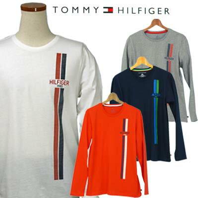 Tommy Hilfiger 長袖プリント Tシャツ !【2015-Spring/NewModel】【トミーヒルフィガー】