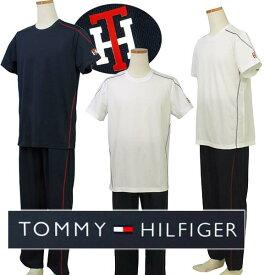 Tommy Hilfigerトミーヒルフィガー Men'sルームウェアー、上下セットラウンジウエアー、パジャマ、メンズナイトウエア・ルームウエアーギフト プレゼント