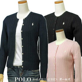 POLO by Ralph Lauren Girl'sコットン ケーブル カーディガン【2019-Spring/NewColor】ラルフローレン カーディガン送料無料 ギフト プレゼント