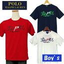 POLO by Ralph Lauren Boy's グラフィックプリント半袖Tシャツ【2015-Spring/NewModel】【ラルフローレンボーイズ】