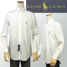 POLO by Ralph LaurenMen's定番 80's Sueded ブロードクロス長袖シャツXL,XXL,大きいサイズ【ラルフローレンMen's】