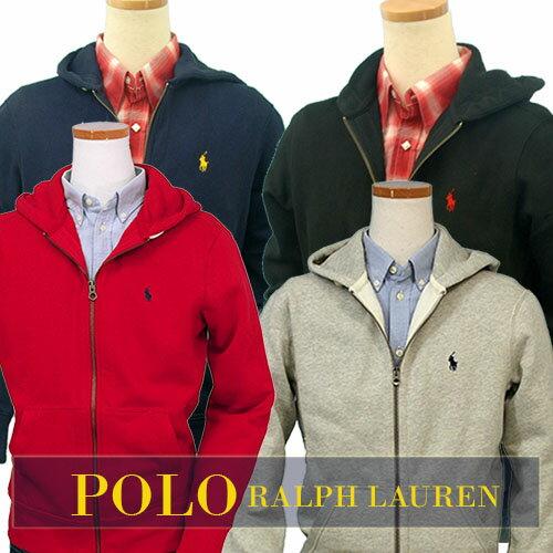 POLO by Ralph Lauren Men'sベーシック フルジップ パーカー特大寸あり #0455439XL,XXL,大きいサイズ,LL,3L寸ラルフローレン パーカー 送料無料
