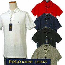 【全商品10%OFFクーポン】Polo by Ralph Laurenラルフローレン Men'sベ-シック 半袖 鹿の子 ポロシャツ カスタム スリム送料無料,ギフト,プレゼント#710548552,POLOラルフローレン ポロシャツ