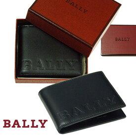 BALLY バリー BEVYE BOLD,二つ折り財布【イタリア製】【2018-Spring/NewModel】 ギフトボックス入りプレゼント、メンズ、レディース用、送料無料