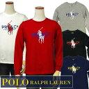 POLO by Ralph Lauren Boy'sビッグポニー プリント 長袖Tシャツ【ラルフローレン ボーイズ】