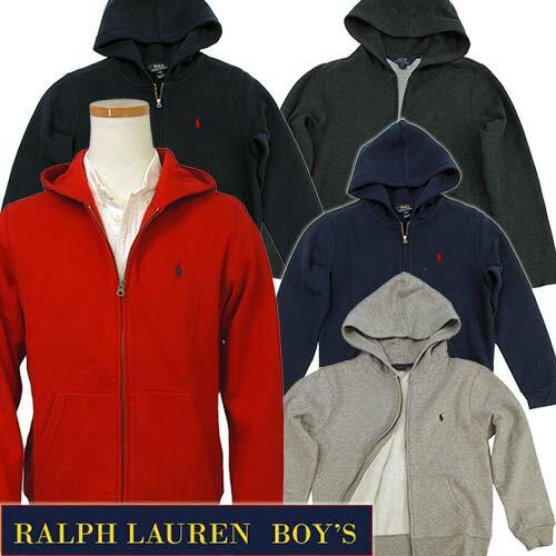 POLO by Ralph Lauren Boy's定番ベーシック フルジップパーカーラルフローレン パーカー323565142 送料込スウェット パーカー