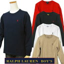 POLO by Ralph Lauren Boy'sベーシック 長袖 T シャツ【2017-Fall/NewColor】【ラルフローレン ボーイズ】#323525052…