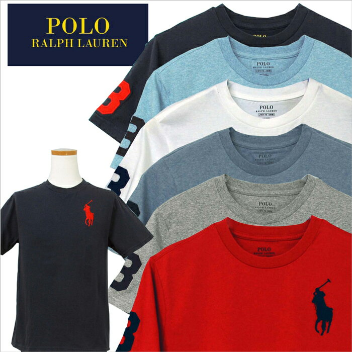 POLO by Ralph Lauren Boy's ビッグポニー刺繍、半袖Tシャツ【2018-Spring/NewColor】ラルフローレンボーイズTシャツ