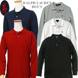 POLO by Ralph Lauren Boy's長袖 鹿の子ポロシャツ【2018-Fall/NewColor】ラルフローレン 長袖ポロシャツ
