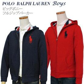【全商品10%OFFクーポン】POLO Ralph Lauren Boy'sビッグポニーフルジップパーカー【2019-Spring/NewModel】ラルフローレン パーカー