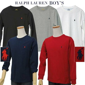 POLO by Ralph Lauren Boy'sベーシック 長袖ポイントTシャツ【2020-Spring/NewColor】【ラルフローレン T シャツ】送料無料