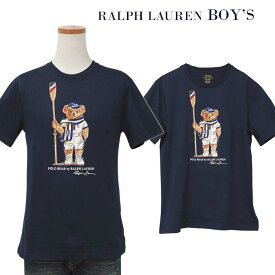 POLO by Ralph Lauren Boy's ポロベアー 半袖Tシャツ【2019-Spring/NewModel】ラルフローレンポロベアーTシャツレガッタ ベアーTシャツ