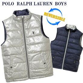 POLO by Ralph Lauren Boy'sリバーシブル ダウンベスト【2019-Fall/NewModel】ラルフローレン ダウンベスト