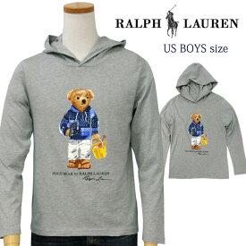 POLO by Ralph Lauren Boy'sポロベアー 長袖 Tパーカー【2020-Spring/NewModel】【ポロベアー Tパーカー】送料無料