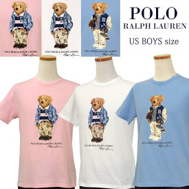 POLO by Ralph Lauren Boy's ポロベアー 半袖Tシャツ【2020-Spring/NewColor】ラルフローレンポロベアーTシャツ父の日ギフト プレゼント