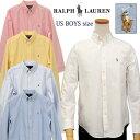 POLO by Ralph Laurenラルフローレン Boy's定番長袖 オックスフォ-ドシャツボタンダウンシャツポロ ボーイズ