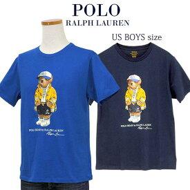 POLO by Ralph Lauren Boy's ポロベアー 半袖Tシャツ【2020-Spring/NewColor】ラルフローレンポロベアーTシャツ