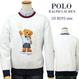 【全商品10%OFFクーポン】POLO by Ralph Lauren Boy's ポロベアートレーナー【2020-Fall/NewModel】送料無料