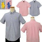 ポケット付サッカー地ストライプシャツ-2021-3-31