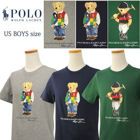 POLO by Ralph Lauren Boy's ポロベアー 半袖Tシャツ【2021-Spring/NewColor】ラルフローレンポロベアーTシャツ父の日ギフト プレゼント