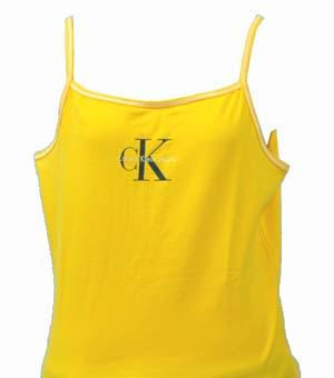 全商品10%OFFクーポン|Calvin Klein Jeans カルバンクラインレデイ-ス CK ロゴ キャミソ-ル