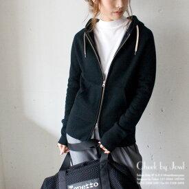 Traditional Weatherwear / トラディショナルウェザーウェア ダブルジップスウェットパーカー SWEAT PARKA ブラック