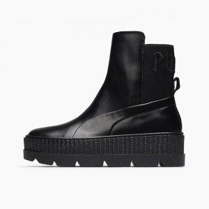 FENTY PUMA by Rihanna / フェンティ プーマ バイ リアーナ スニーカーブーツ Chelsea Sneaker Boot 366266-03 レザー ブラック