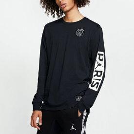Nike Jordan x Paris Saint-Germain PSG / ナイキ ジョーダン × パリサンジェルマン ロングスリーブTシャツ 長袖 BQ8382-010 ブラック