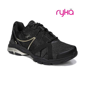 RYKA / ライカ フィットネスシューズ VIDA RZX / ビダ アールゼットエックス D1996M-6005 ブラック×ゴールドラメ