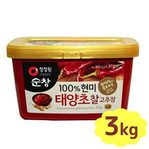 【送料無料】 スンチャン コチュジャン 3kg 韓国加工食品 大象 デサン 調味料 香辛料