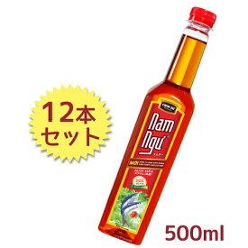 【送料無料】 CHIN-SU チンス ナムヌー ヌクマム 500ml×12個セット 魚醤 Nam Ngu ベトナム調味料 ベトナム料理