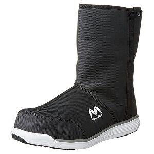 【送料無料】 丸五 安全靴 マルゴ マンダム セーフティーシューズ ブラック/ホワイト 27.0cm 4E HIGH#370 防水 軽量 作業靴 業務用 男性 メンズ おしゃれ