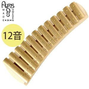 【ポイント2倍!】【送料無料】 子ども用 打楽器 おもちゃ アウリス社 グロッケン ダイヤトニック12音 鉄琴 真鍮 音楽 知育玩具 音が出る ギフト キッズトイ 子供 AURIS