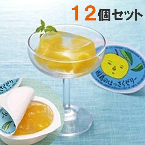 【送料無料】 フルーツゼリー 詰め合わせ はっさくゼリー 12個セット 因島 ギフト 化粧箱入り