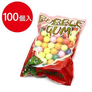 【送料無料】 ガムボールマシン用 詰め替えガム 100個入 丸型リフィル ガチャガチャマシーン お菓子 おやつ
