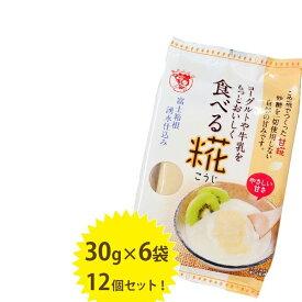 【送料無料】 伊豆フェルメンテ 食べる糀 6袋入×12個セット 自然甘味ペースト 国産 砂糖不使用 米こうじ 麹